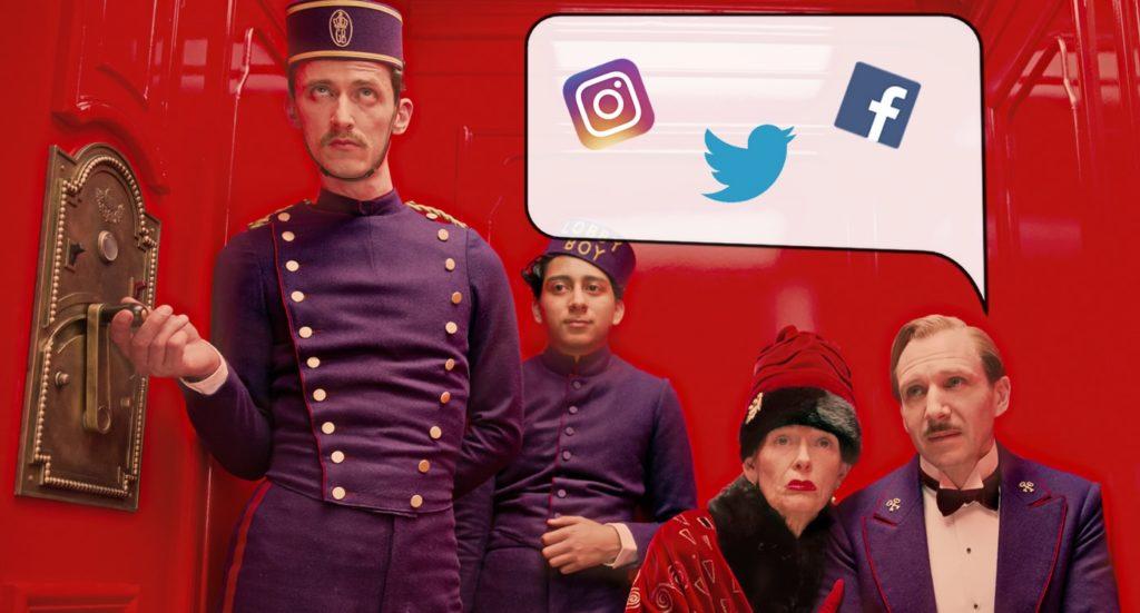 social media per hotel